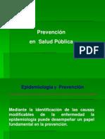 Prevencion en Salud Publica Resumido
