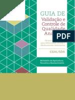 Guia de Validação e Controle de Qualidade Analitica