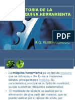 Historia de La Maquina Herramienta