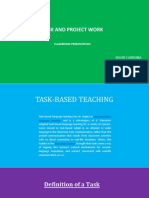 task and project work
