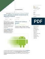 Cómo Optimizar Al Máximo La Memoria de Tu Dispositivo Android