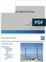 CRU Group - Global Sulphur Market Outlook