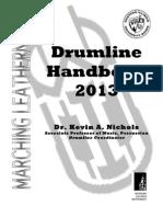 Drumline Handbook 2013