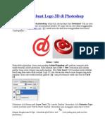 79106386 Belajar Membuat Logo 3D Di Photoshop