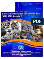 1 Bantuan Pembangunan USB SMK Lanjutan 2010