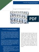 middle management development program