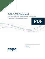 COPC 2012 CSP Standard Release 5.1 Version 1.0 - 5X IRI 6 Feb 13