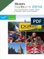 Programm Kulturbunt 2014