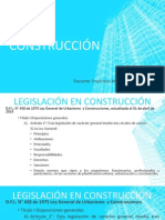 Legislación en Construcción