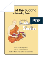 Story of the Buddha Colouring Book -Primary Students