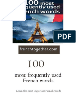 100 Most Frequently Used French Words1