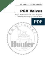 Hunter PGV Valve Manual