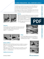 Spine Lumbar Low Back Core Exercises