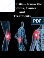 Osteoarthritis – Know the Symptoms, Causes and Treatments