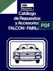 Catalogo Repuestos Ford Falcon