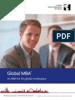Global MBA Factsheet