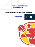 117 Reglamento Disciplinario FEB
