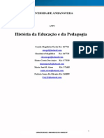ATPS Historia Da Ed e Da Pedagogia