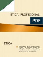 Etica Profesional. Conceptos Pptx