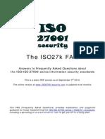 ISO27k FAQ