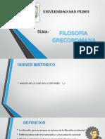 FILOSOFIA GRECORROMANA