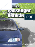 Driving a Passenger Vehicle