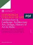 Pg Edinburgh College Art 2014