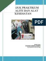 Cover Petunjuk Praktikum Spesialite Dan Alat Kesehatan
