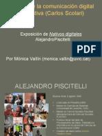 Nativos Digitales, Alejandro Piscitelli Presentación Master