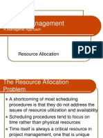 Resource Allocation II