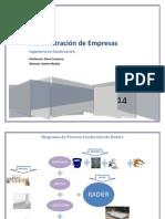 Diagrama de Proceso Confección de Radier