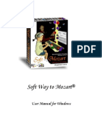Softmozart User Manual for Windows