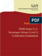 NISM-Investment Adviser - Level 1