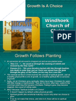 Growth 2 - Spiritual Growth Is A Choice 2008-10-12