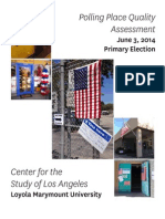Loyola Marymount University - Polling Place Quality Assessment