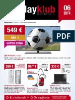 Leták PlayKlub 6/2014