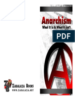 Anarchism What It is and What It Isnt Chaz Bufe