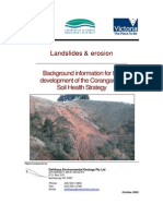 Landslides and Erosion