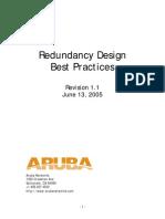 Aruba Redundancy Design Guide