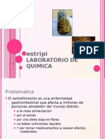 Proyecto de lboratorio de quimica