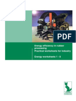 Energy Efficiency in Rubber Processing Practical Worksheets for Industry Energy Worksheets 1 - 8
