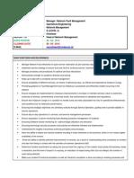 Job description of Fault Manager .docx