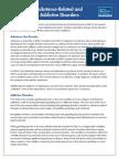 Substance Use Disorder Fact Sheet
