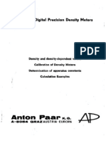 Antonpaar Dma Density Meter Manual