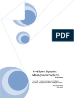 Work Paper - Intelligent Daynamic Management Systems
