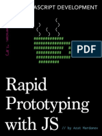 Rapid Prototyping With Js Sample