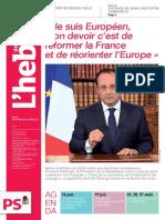 L'Hebdo des Socialistes n°736