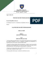 Ligji Per Proceduren Permbarimore