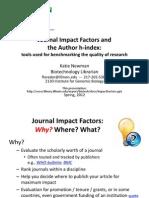 Impact Factors - ISI