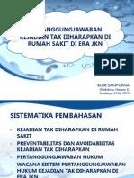 5BS Tanggungjawab KTD Di Era JKN Hospex Surabaya 8Mei2014